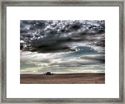 Montana Grasslands Framed Print by Leland D Howard