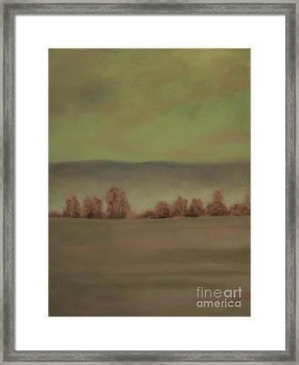 Montana Landscapes II Framed Print by Sabina Haas