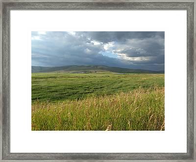 Montana Openness Framed Print
