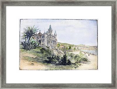 Monte Carlo Casino, 1884 Framed Print by Granger