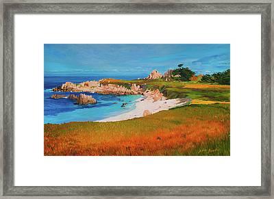 Monterey Peninsula Framed Print