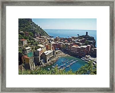 Monterosso Italy Framed Print
