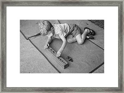 Montessori School Framed Print by Kurt Hutton