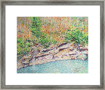 Montlake In Winter Framed Print