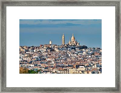 Montmatre Framed Print