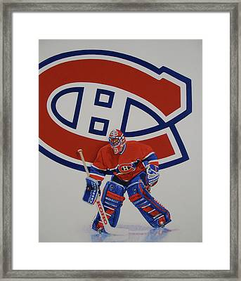 Framed Print featuring the painting Montreal by Cliff Spohn