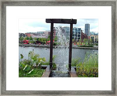 Framed Print featuring the photograph Montreal Expoflora by Vicky Tarcau