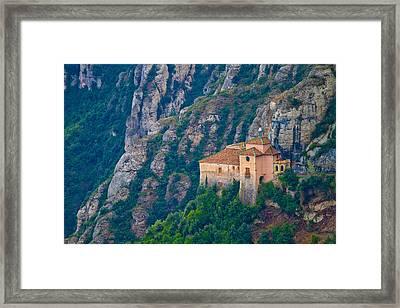 Montserrat Framed Print by Albert Tan photo