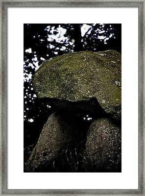 Monument Framed Print by Odd Jeppesen