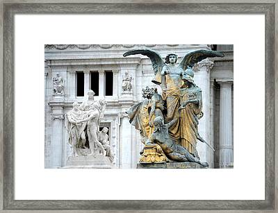 Monument Framed Print by Tammy McKinley