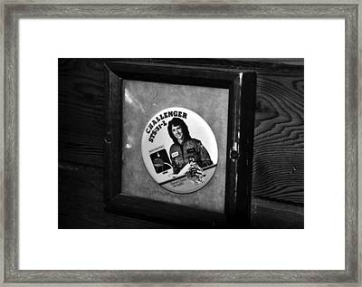 Monument To Courage Framed Print by David Lee Thompson