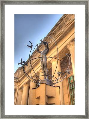 Monument To Multiculturalism Framed Print