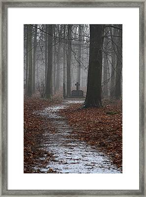 Monument To The Resistance Framed Print by Anonymous