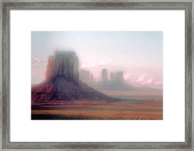 Monument Valley, Arizona, Usa Framed Print by Stefano Salvetti