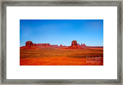 Monument Valley IIi Framed Print