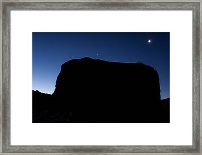 Monument Valley One Framed Print by Josh Whalen