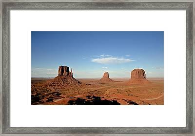Monument Valley Framed Print by Stefano Baldassini