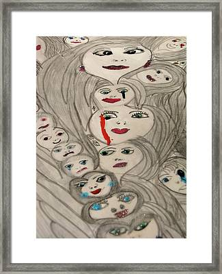 Moods Framed Print by HollyWood Creation By linda zanini