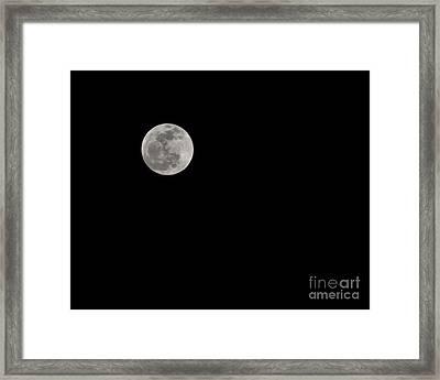 Moon After Yule Framed Print by Lynda Dawson-Youngclaus