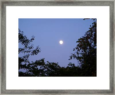 Moon Framed Print by Aimee L Maher Photography and Art Visit ALMGallerydotcom