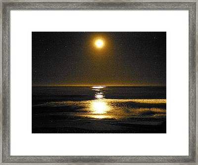 Moon Dust Framed Print