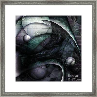 Moon Glow Framed Print by Monroe Snook