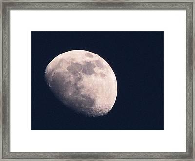 Moon Framed Print by Katie Wing Vigil