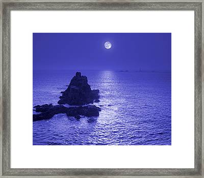 Moon Over Water Framed Print by Tony Craddock