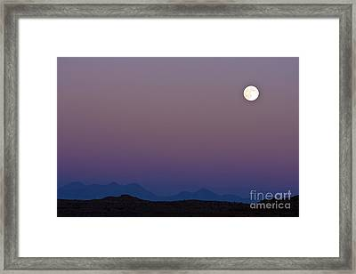 Moon Rise Maze Framed Print by Scotts Scapes