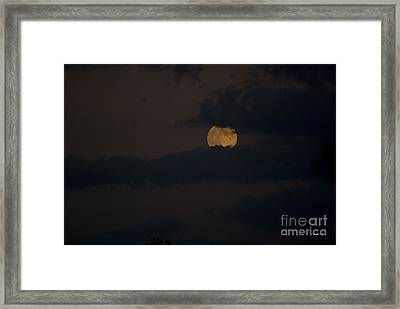 Moon Rising 04 Framed Print by Thomas Woolworth