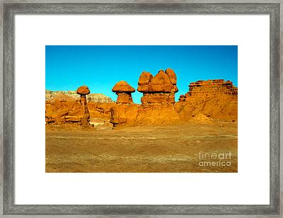 Moon Scape Framed Print