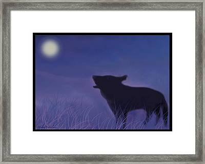 Moon Song Framed Print by Debra     Vatalaro