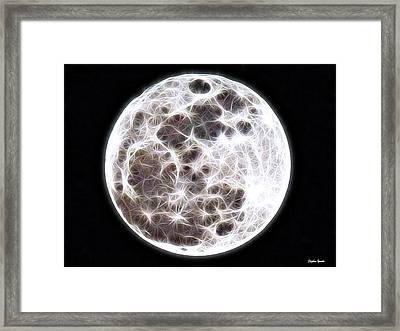 Moon Framed Print by Stephen Younts