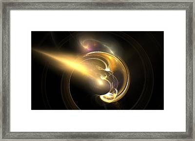 Moon Struck Framed Print by Christy Leigh