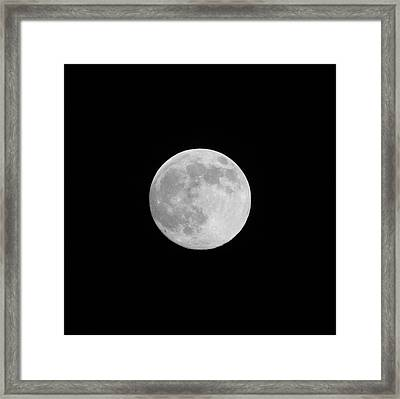 Moon Time Framed Print by Cathie Douglas
