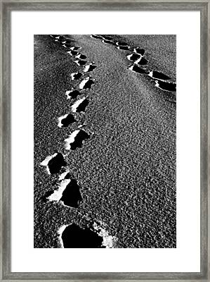 Moon Walk Framed Print by Jerry Cordeiro
