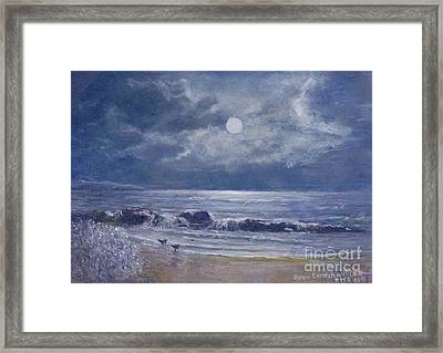Moonglow Framed Print by Joan Cornish Willies