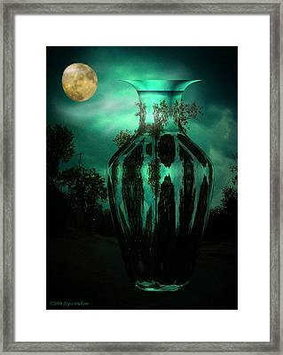 Moonglow Framed Print by Joyce Dickens