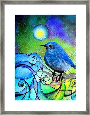 Moonglow Framed Print by Robin Mead