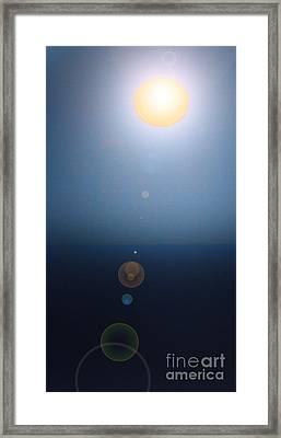 Moonish Two Framed Print