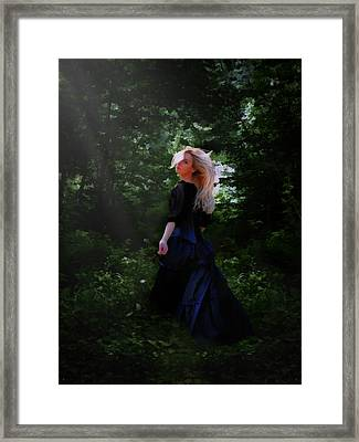 Moonlight Calls Me Framed Print by Nikki Marie Smith
