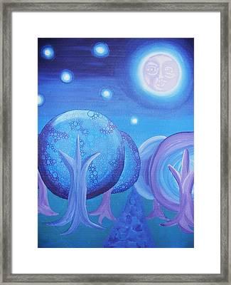 Moonlight Framed Print by Nichole Williamson