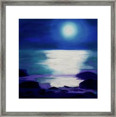 Moonlight Sonata Framed Print by Diana Tripp