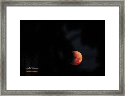 Moonlight Sonate Framed Print by Itzhak Richter