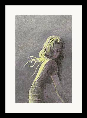 Limelight Drawings Framed Prints