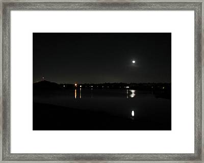 Framed Print featuring the photograph Moonlight Tears by Bill Lucas