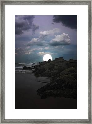 Moonlight Tonight Framed Print by Tom York Images