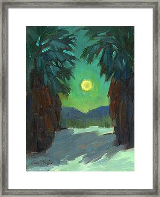 Moonrise Framed Print by Diane McClary