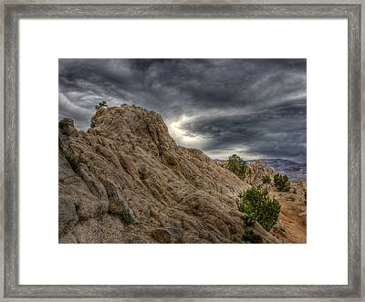 Moonrocks Framed Print by Scott McGuire