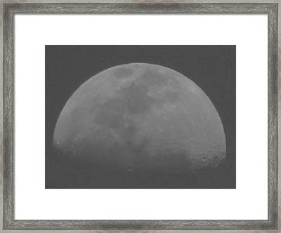 Moon's Shadow Framed Print
